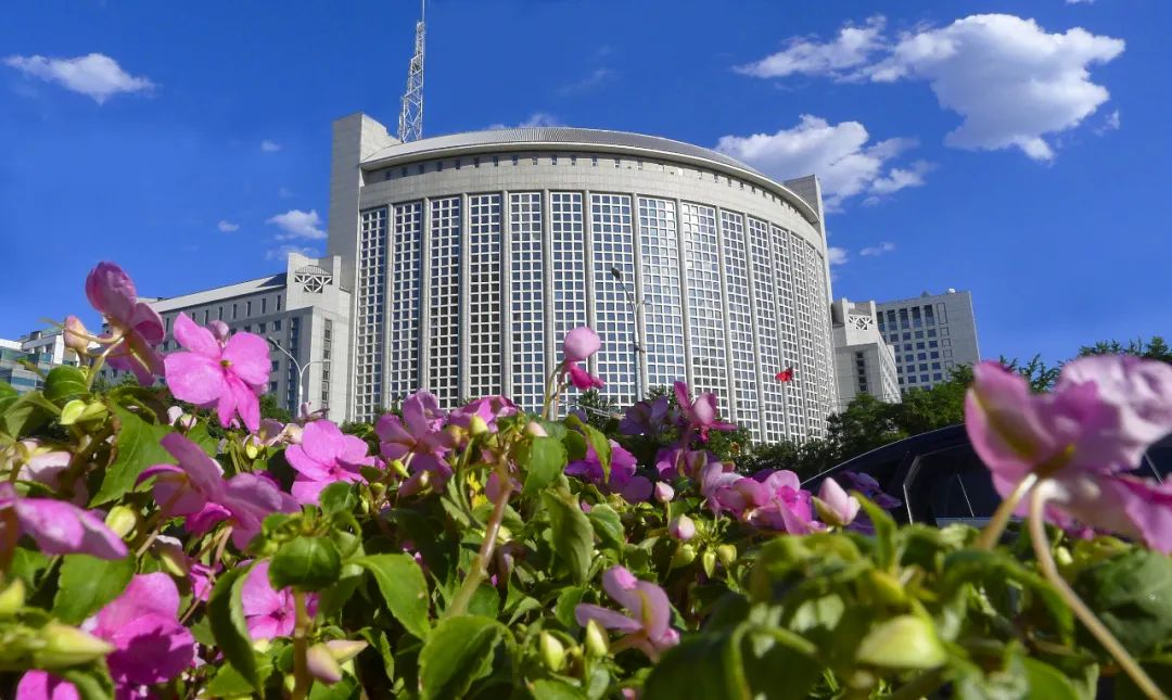 资料图片:中国外交部大楼(视觉中国)