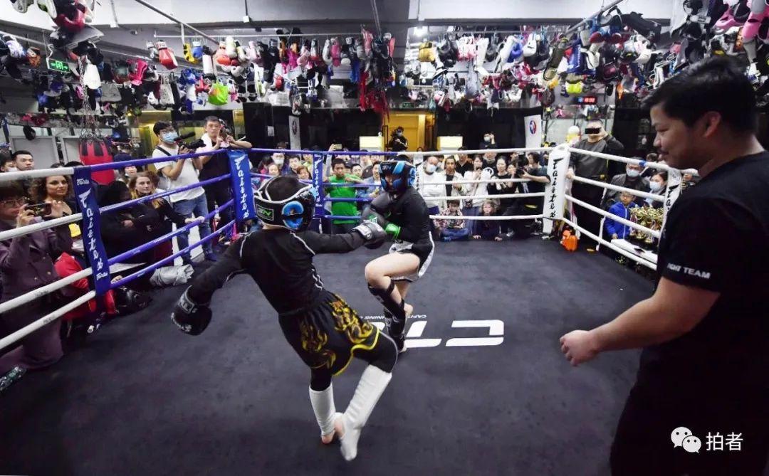 学拳击泰拳柔术男孩有增长趋势