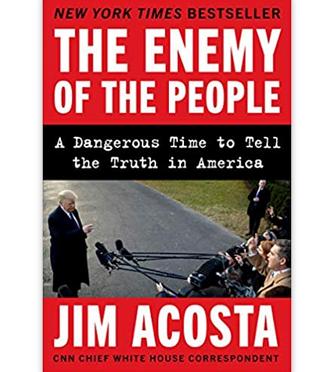"""阿科斯塔为特朗普""""量身定制""""的书《人民的敌人》"""