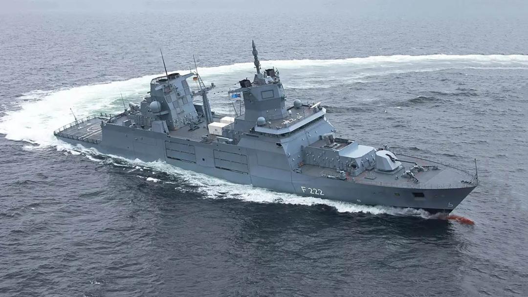 德国海军F125型护卫舰 (资料图)