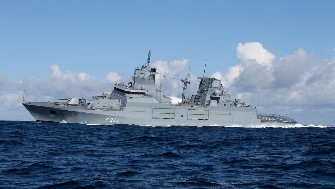 德国海军F125型护卫舰(资料图)