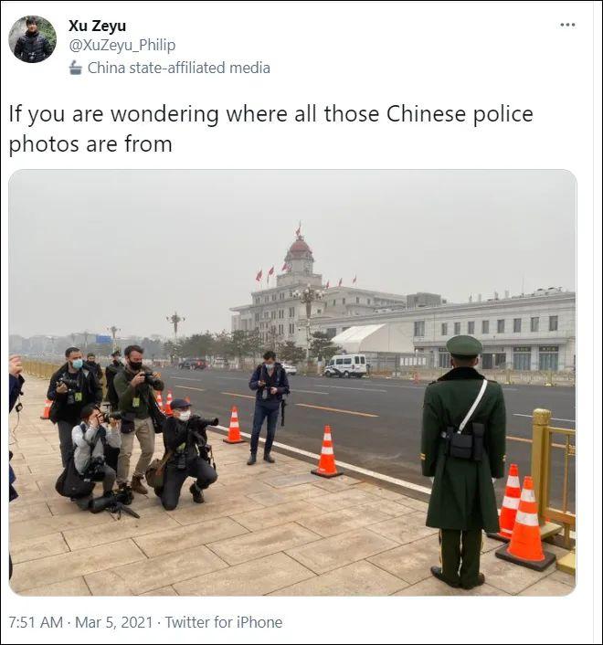 """他们""""拼力""""拍到的中国武警照片 标价499美元一张"""