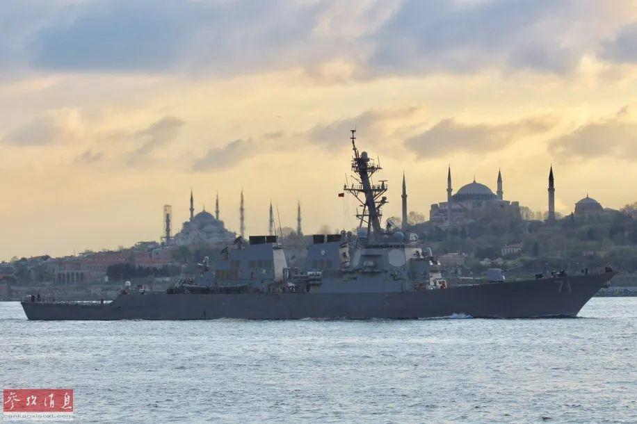 美国两艘军舰进入黑海 美官员:为戒备乌克兰冲突