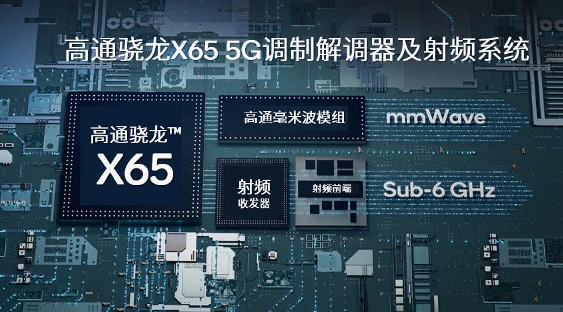 高通成功实现 FDD/TDD、毫米波频段双连接 5G数据呼叫,利用骁龙X65基带