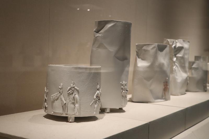 佛山陶艺家范安琪作品展在广东石湾陶瓷博物馆开幕