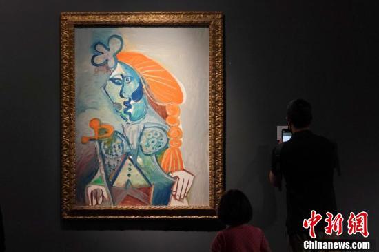毕加索等大师作品亮相香港苏富比春拍 五件拍品估价超4亿港元