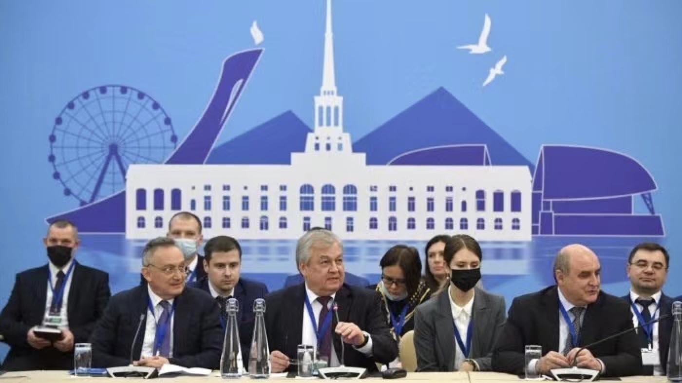 △今年2月16日,第十五輪敘利亞問題阿斯塔納會談在俄羅斯索契召開