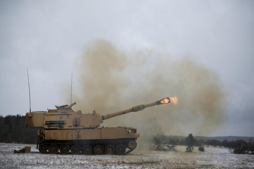 美国即将公布最新一批对台军售:M109A6自行榴弹炮