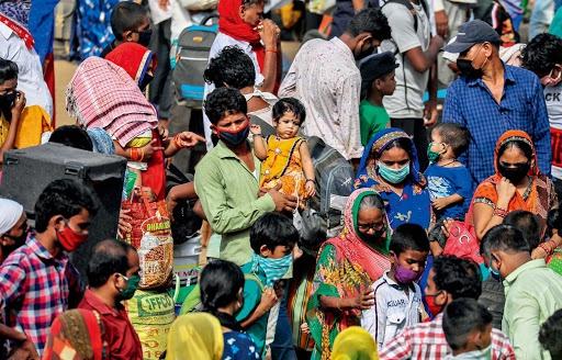 """印度政府吹嘘自己""""卓有成效""""的防疫措施。资料图来源:《环球》杂志"""