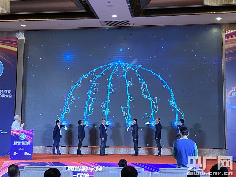 搭建数字经济产、学、研、用平台 江西省数字经济学会成立