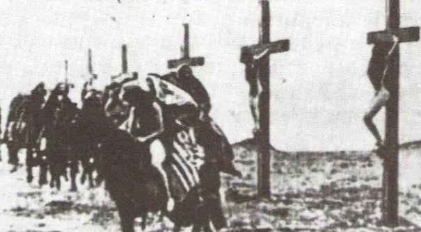 亚美尼亚大屠杀中死去的基督徒 图源:亚美尼亚大屠杀纪念馆
