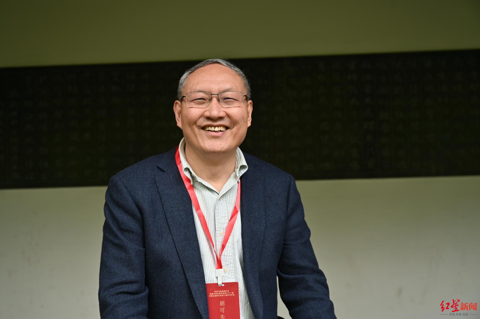 中国杜甫研究会副会长胡可先:草堂书院高雅、古朴又有现代性,提升城市品位