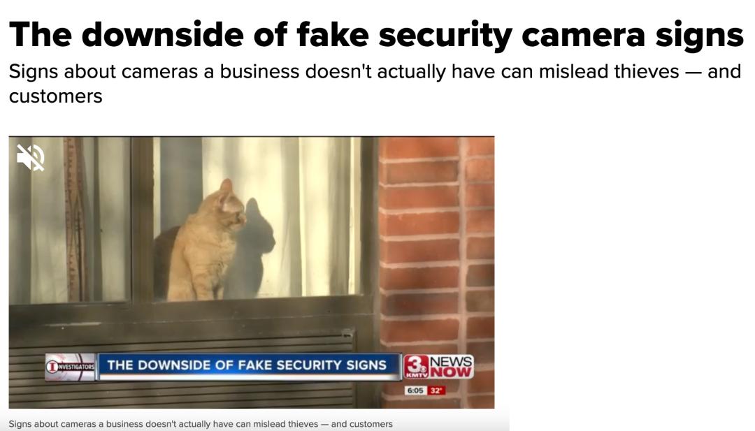 为什么美国人喜欢在家室外安装假监控摄像头呢?(图15)