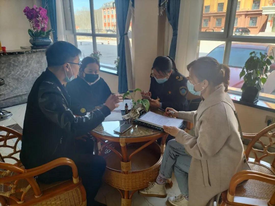 富蕴县开展酒店行业服务质量专项检查工作