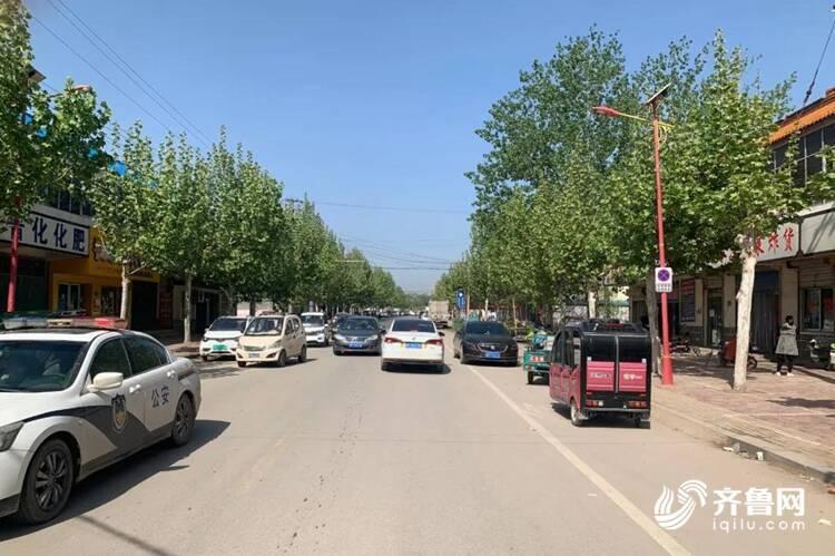 5月8日起聊城莘县柿子园镇政府驻地部分路段禁停