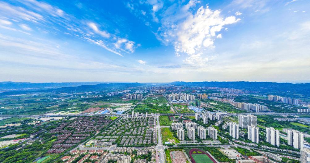 俯瞰高新区 重庆高新区供图