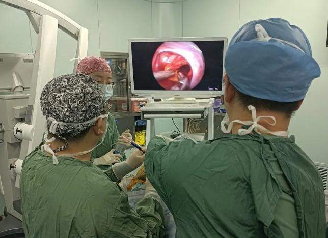 看得更清 创伤更小 浙二完成首例国产4K神经内镜下脑干海绵状血管瘤手术