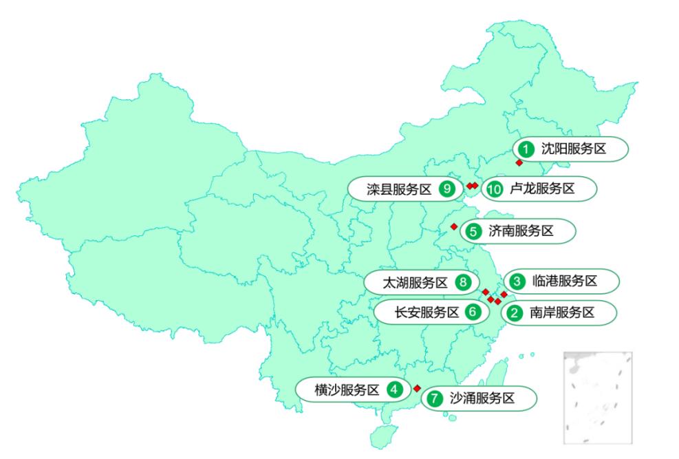 图5 繁忙服务区。