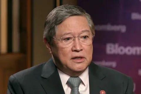 菲律宾财政部长卡洛斯ⷥ䚦˜Ž格斯(资料图)