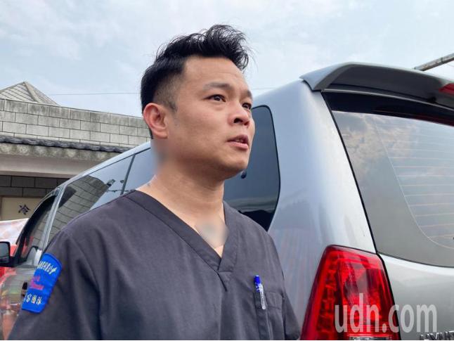 遗体修复师陈修将。图自联合新闻网