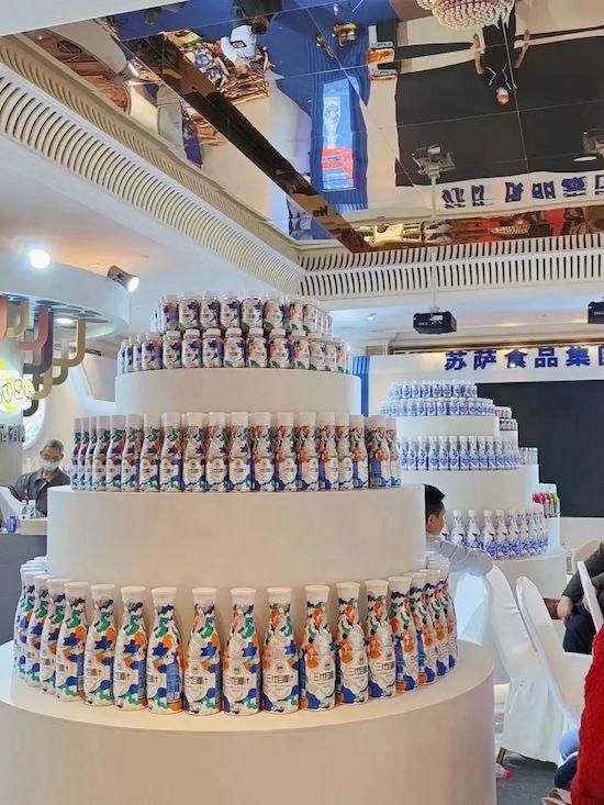苏萨食品第三代椰汁亮相2021年全国春季糖酒会