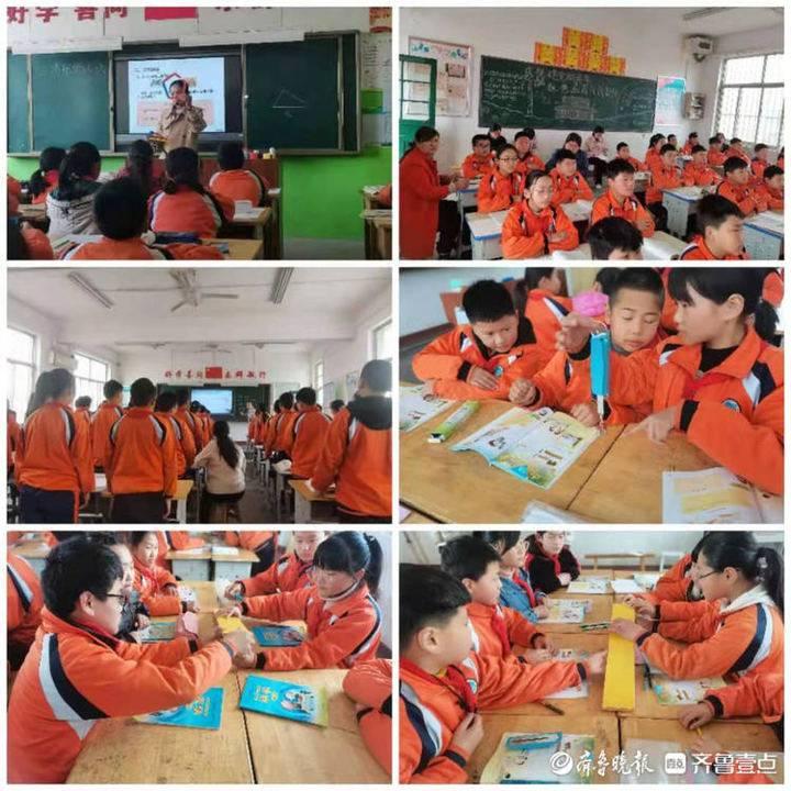 听课评课促成长,堂邑镇中心小学开展听评课教研活动