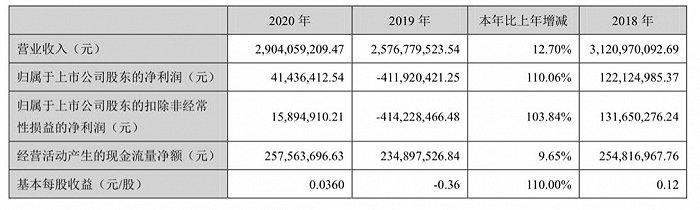 净利润同比增长110.06%,海南瑞泽实现扭亏为盈