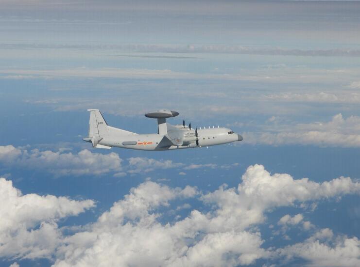 台防务部门公布的空警-500预警机资料照片