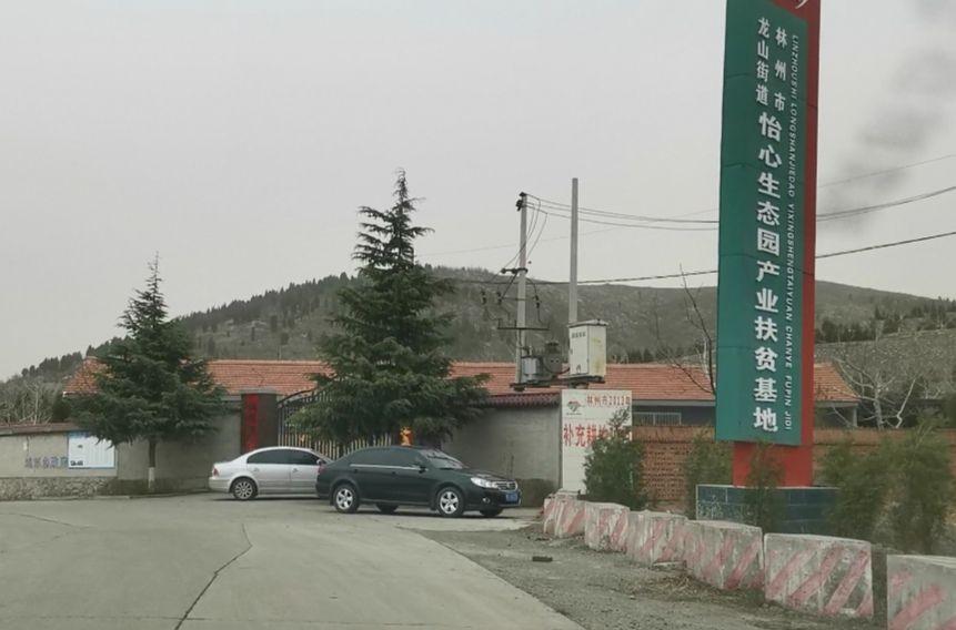 林州市怡心生态园,未取得任何手续,非法售卖墓地。新京报记者程亚龙摄