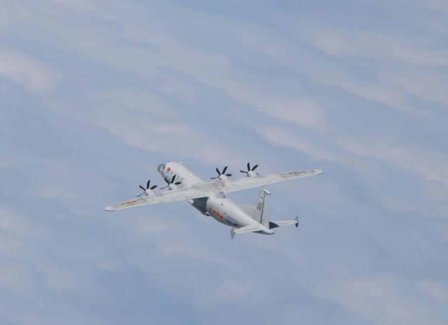 台防务部门公布的解放军运-8侦察机资料照片