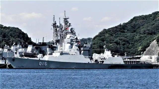 越南海军的HQ-015号猎豹级护卫舰
