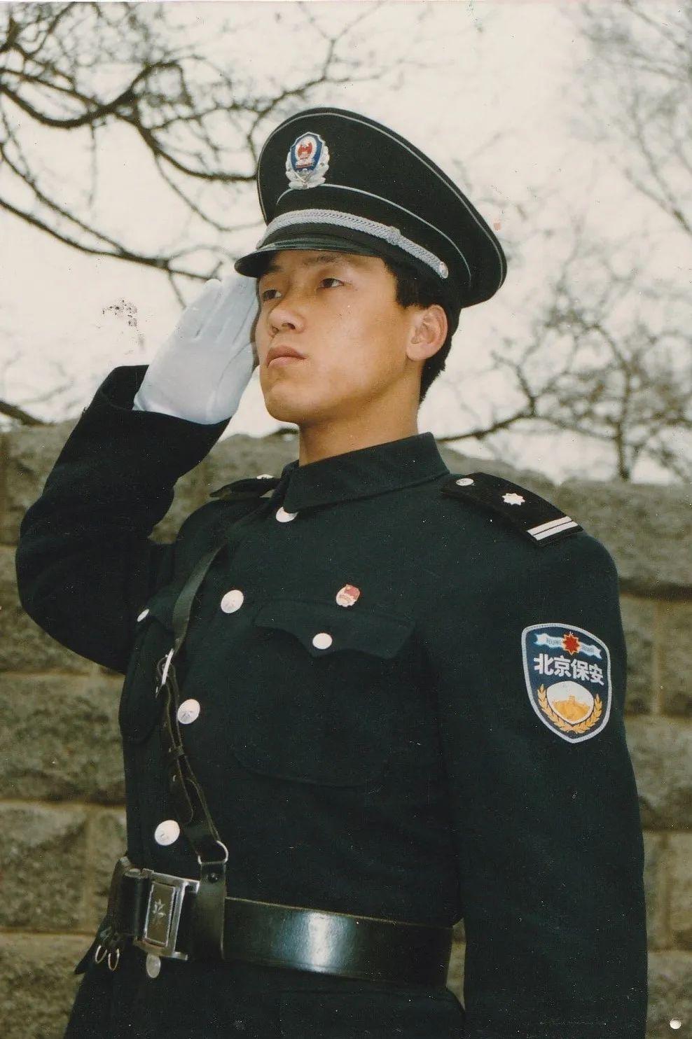张俊成在北大当保安时期。受访对象供图