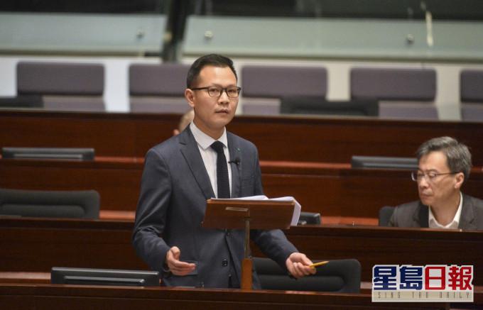郭荣铿资料图(图片来源:香港《星岛日报》)
