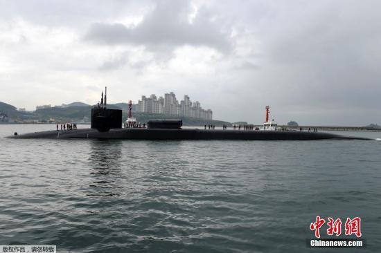 """""""担心成轰炸目标"""" 挪威居民抗议美核动力潜艇停靠"""
