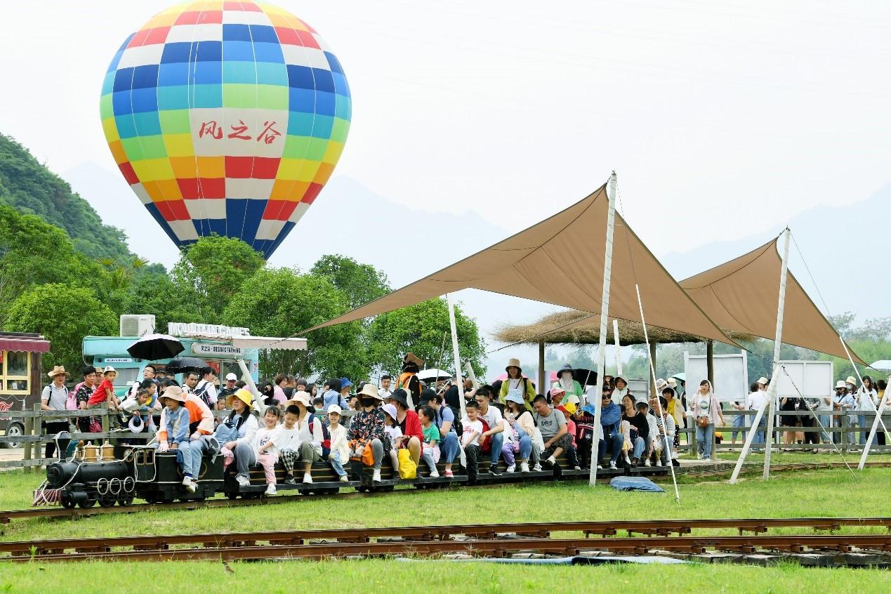 乡村休闲游人气旺 临安昌化风之谷火了