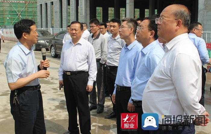 兖矿集团铁运处到菏泽市开发区参观考察