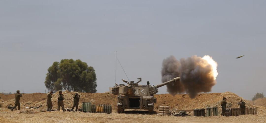 以色列军队炮击加沙