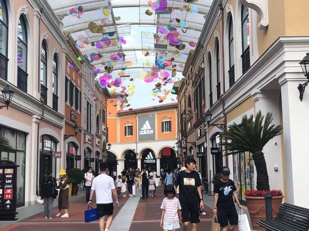 商业场   五一假期佛罗伦萨小镇创业绩新纪录,广州太古汇第一季度零售额上涨近170%