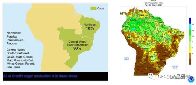 中信建投:巴西极端干旱 甘蔗、 棉花经历两重天
