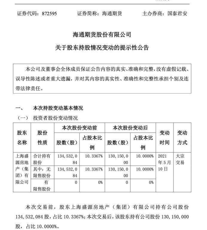 放弃境外业务?海通期货拟注销香港全资子公司