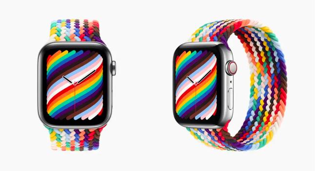 每日资讯|Apple Watch彩虹表带来了,乐高无限手套也来了,Pinterest变样了……