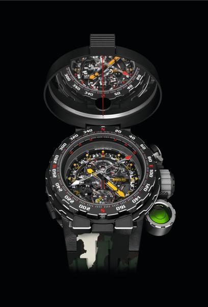 夏日来袭 怎能少得了RICHARD MILLE里查德米尔RM 25-01腕表?