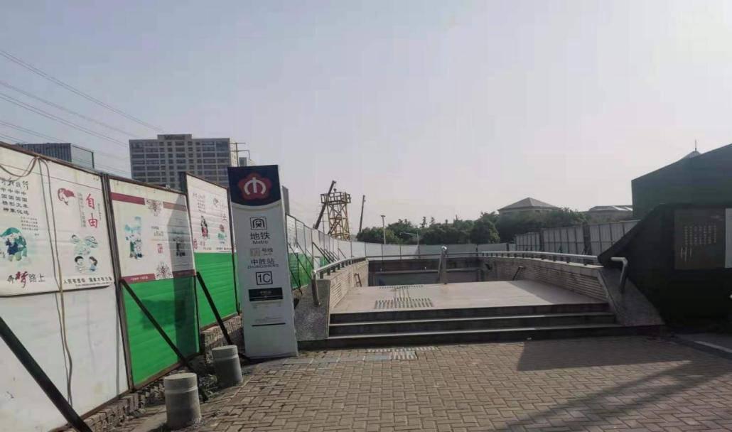 南京地铁10号线中胜站1C出入口将临时封闭