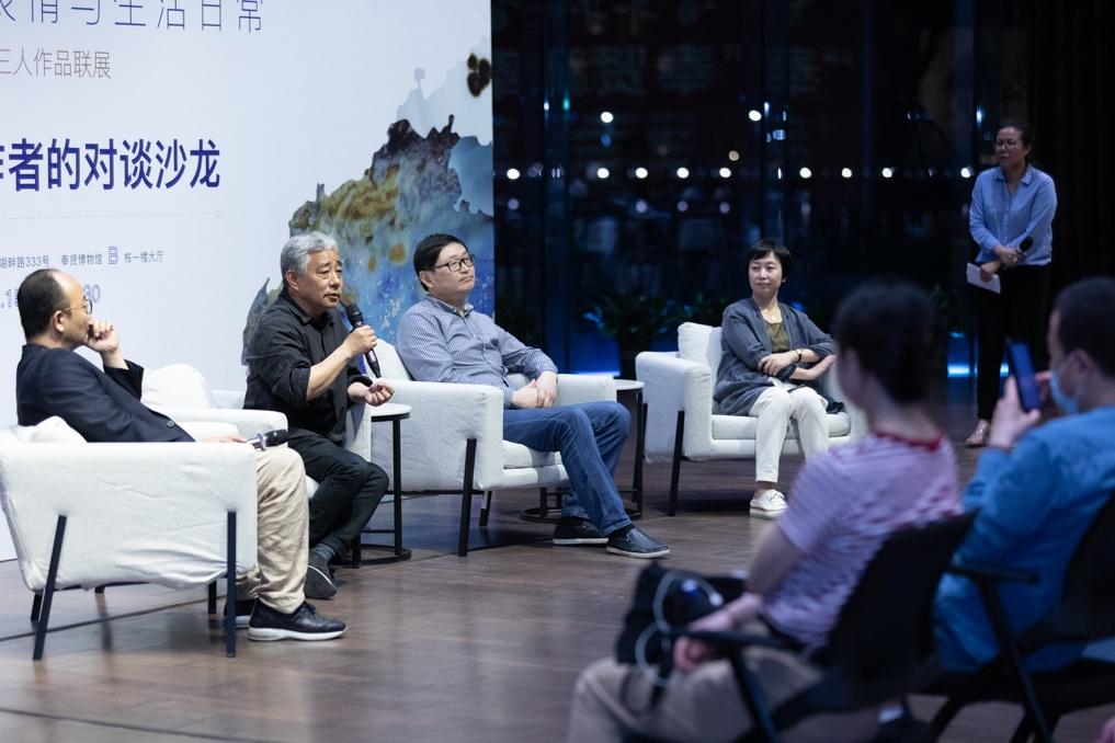 当陶瓷艺术作品进入奉贤人的日常生活,奉贤区博物馆举办青年陶艺家三人联展及作者对谈沙龙