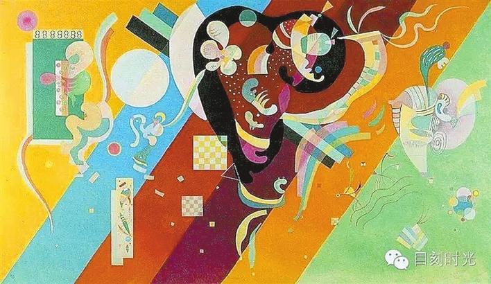 """""""抽象艺术先驱""""中国特展亮相沪上,从康定斯基色彩里听见声音"""