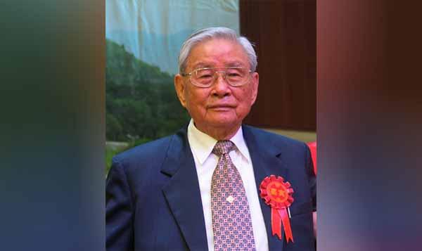 著名侨胞施金城逝世 享年96岁