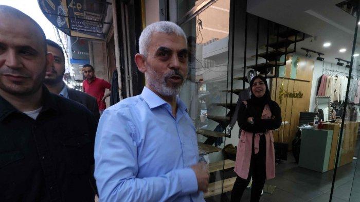 哈马斯领导人叶希亚·辛瓦尔 图源:社交媒体