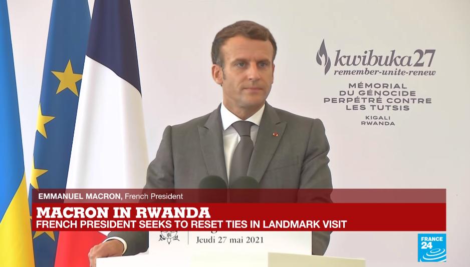 路透社:法国领导人时隔11年首访卢旺达,为大屠杀寻求宽恕