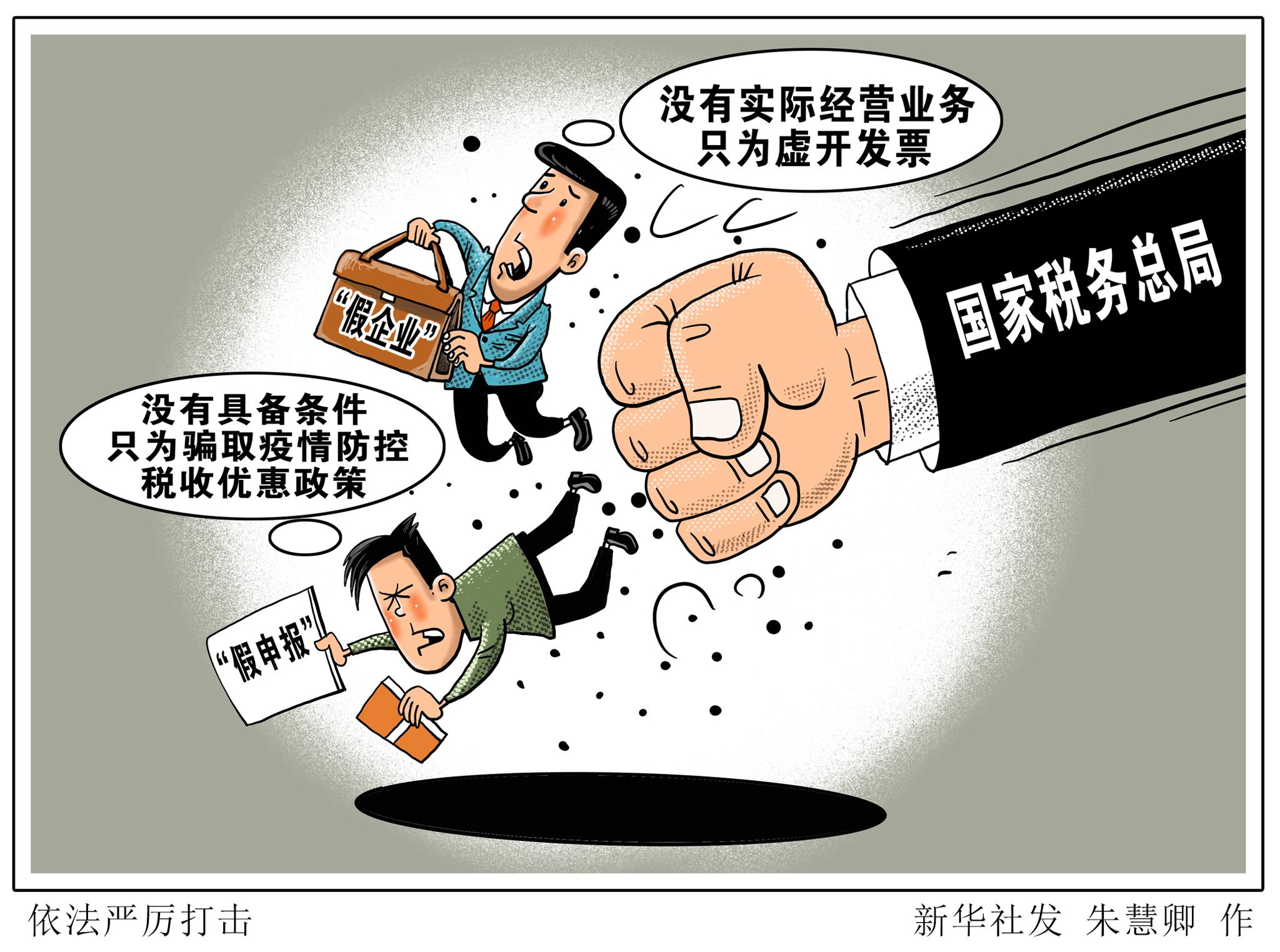 虚开发票、骗取出口退税……国家税务总局曝光5起虚开骗税典型案件