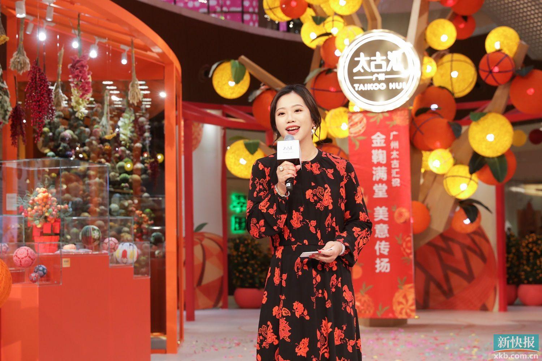 高端经济人物访谈 │ 广州太古汇总经理黄瑛:最奢侈的不是奢侈品,而是时间